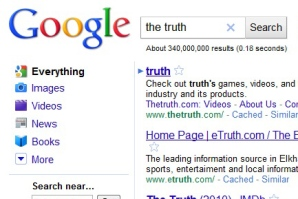 internet search for the truth